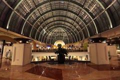 Alameda de los emiratos, Dubai Fotos de archivo libres de regalías