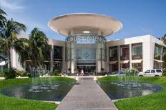 Alameda de lujo Cancun México de la avenida imagen de archivo