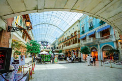 Alameda de Mercato, Dubai, UAE Imagenes de archivo