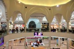 Alameda de Seef em Manama, Barém Imagem de Stock