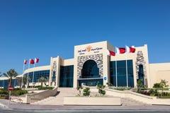 Alameda de Seef en Muharraq, Bahrein imagen de archivo