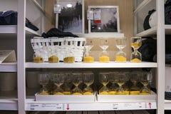 Alameda de Shenzhen IKEA, originando de uma corrente n?rdica do armaz?m, vende a mob?lia montada e igualmente fornece artigos do  fotografia de stock royalty free