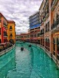 Alameda de Veneza Grand Canal imagem de stock
