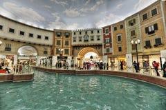 Alameda de Villaggio en Doha Fotografía de archivo