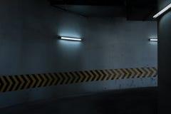 Alameda del estacionamiento foto de archivo