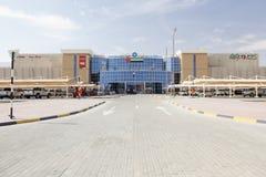 Alameda del mercado en Al Ain, UAE Foto de archivo