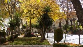 Alameda del Tajo-Ronda ANDALUSIA-SPAIN. Alameda del Tajo-Ronda-Malaga-Andalusia-Spain Royalty Free Stock Images