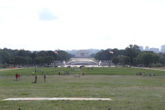 Alameda del Washington DC por día Imagen de archivo libre de regalías