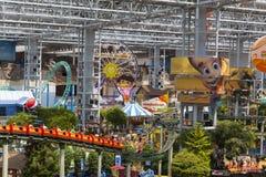 Alameda do universo do Nickelodeon de América em Bloomington, manganês em julho Foto de Stock