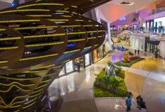Alameda dos cristais de Las Vegas Imagem de Stock