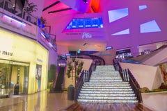 Alameda dos cristais de Las Vegas Imagens de Stock Royalty Free