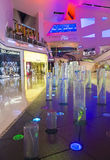 Alameda dos cristais de Las Vegas Fotografia de Stock Royalty Free