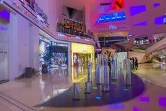 Alameda dos cristais de Las Vegas Fotografia de Stock