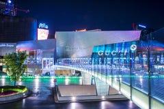 Alameda dos cristais de Las Vegas Fotos de Stock Royalty Free