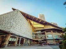 Alameda Filipinas de la zona verde de Manila Fotos de archivo libres de regalías