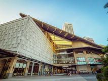 Alameda Filipinas do cinturão verde de Manila Fotos de Stock Royalty Free