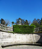 Alameda garden landcape - Santiago Compostela Royalty Free Stock Images