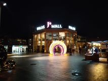Alameda Iasi Romênia de Palas fotografia de stock