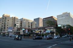 Alameda Los Ángeles de Koreatown Foto de archivo libre de regalías