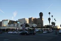 Alameda Los Angeles de Koreatown Fotografia de Stock