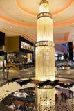 Alameda moderna interior luxuosa de Marrocos do shopping Imagem de Stock