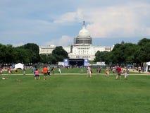 Alameda nacional en un día de verano Imagen de archivo libre de regalías