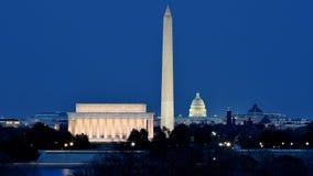 Alameda nacional en Washington DC foto de archivo
