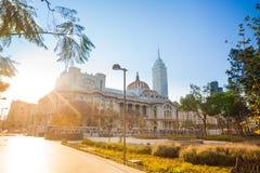 Alameda park, palace of fine arts latinoamericana Stock Image