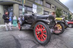 Alameda-Park-Straßen-Oldtimer-Show 2013 Lizenzfreie Stockfotografie