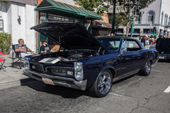 Alameda Park Street Classic Car Show 2014 Royalty Free Stock Images