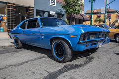 Alameda Park Street Classic Car Show 2014 Royalty Free Stock Image