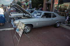 Alameda Park Street Classic Car Show 2014 Stock Images