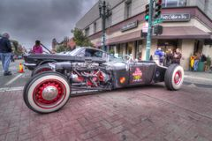 Alameda parkerar den klassiska Car Show 2013 för gatan Royaltyfria Foton
