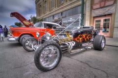 Alameda parkerar den klassiska Car Show 2013 för gatan Arkivfoto