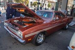 Alameda parkerar den klassiska Car Show 2014 för gatan Royaltyfri Fotografi