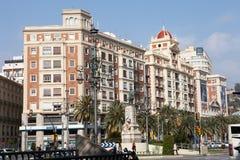 Alameda Principal, Malaga Stock Images