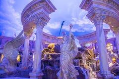 Alameda shoping del foro de Las Vegas Fotos de archivo libres de regalías