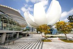 Alameda Singapur de la ópera y de compras de Marina Bay Sands Fotos de archivo