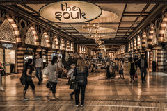 Alameda Souk de Dubai Imagen de archivo libre de regalías