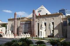 Alameda temática egipcia de WAFI, Dubai fotografía de archivo
