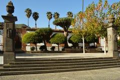 Alameda,teror,gran canaria. Plaza of la alameda, teror,gran canaria Royalty Free Stock Images