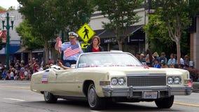 Alameda 4th of July Parade 2017 royalty free stock photos