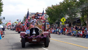 Alameda 4th of July Parade 2017 royalty free stock images
