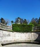 Alameda trädgårdlandcape - Santiago Compostela - Spanien Royaltyfria Bilder