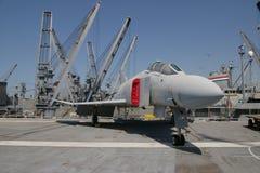 ALAMEDA, usa - MARZEC 23, 2010: F-4 fantom, lotniskowa szerszeń w Alameda, usa na Marzec 23, 2010 Zdjęcia Royalty Free