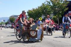 Alameda 4. von Juli-Parade 2017 Stockfotografie