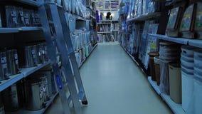 Alamedas en tienda almacen de video