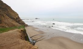 Alamere Falls, Marin County royalty free stock image