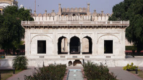 The Alamgiri Gate. Built in 1673 A.D., is the main entrance to the Lahore Fort in present day Lahore, Pakistan. It was constructed to face west towards the Royalty Free Stock Photos