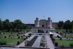 Alamgiripoort van Lahore-fort, Punjab Pakistan royalty-vrije stock foto